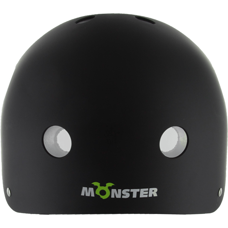 Monster Kids Helmet - Black