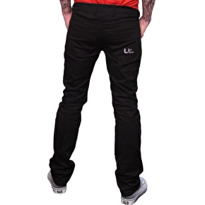 Urban Kreation Regular Fit Kevlar lined Jeans - Black