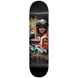 Almost Talladega Slick Bottom Skateboard Deck