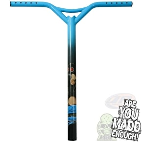 MGP Lethal Oversized Scooter Bars Bat Wings - Sky Blue (B-Stock)