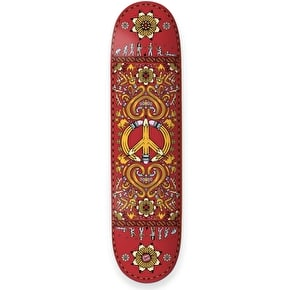 Drawing Boards Positive Symbols Skateboard Deck - Peace 8.25