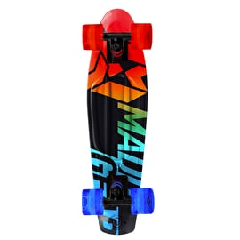 Madd Gear Pro Urban Wrap Retro Cruiser - Fader Red/Blue