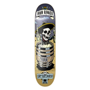 Jart Skateboard Deck - Party Rivado 7.87