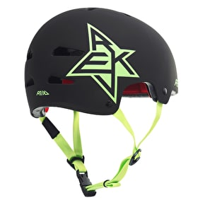 REKD Elite Icon Helmet - Black/Green