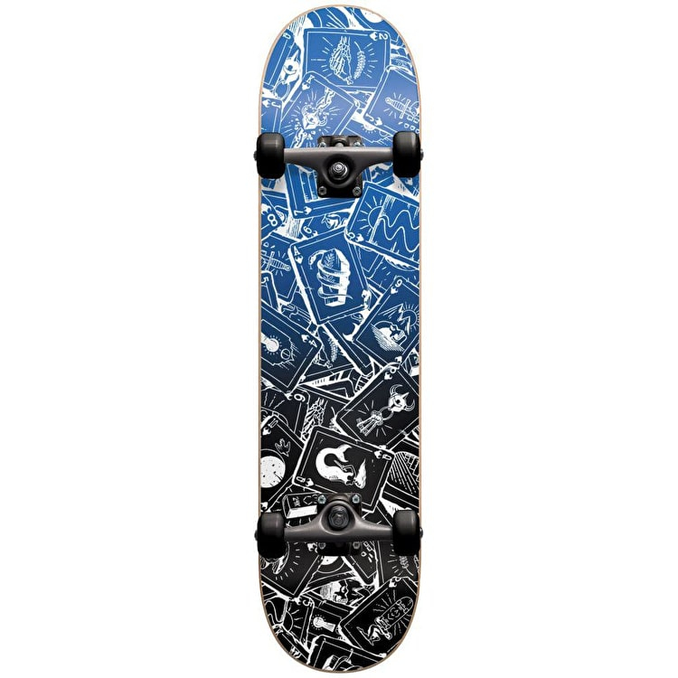 "Darkstar Player Complete Skateboard 7.75"" - Blue"