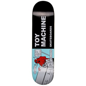 Toy Machine Tract Team Skateboard Deck - 8.375