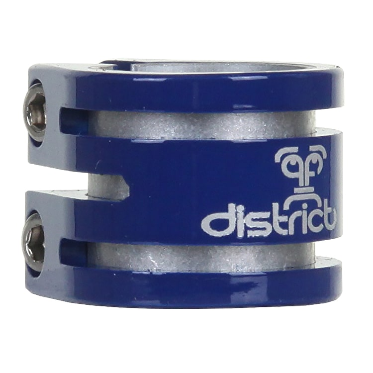 Double District Lightweight Collar Clamp - Blue