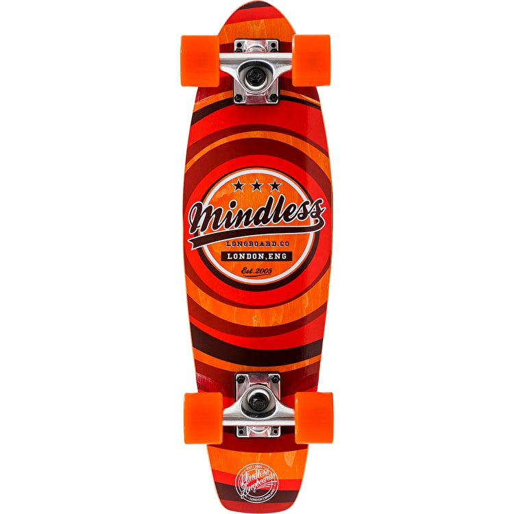 Mindless Stained Daily II Complete Cruiser - Orange