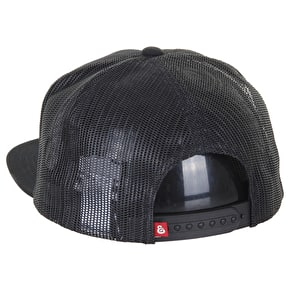 Expedition One Coaster Trucker Cap - Black
