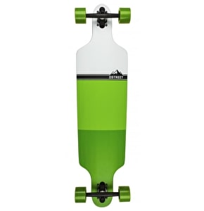 D-Street Longboard - Blocks Drop-Through Green 39