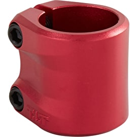Tilt Sculpted Double Scooter Collar Clamp - Red