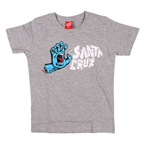 Santa Cruz Scream Kids T-Shirt - Dark Heather