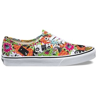 Vans Authentic Shoes - (Freshness) Mixed Tape/True White