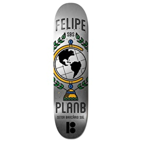 Plan B Felipe SBS BLK ICE Skateboard Deck - 8