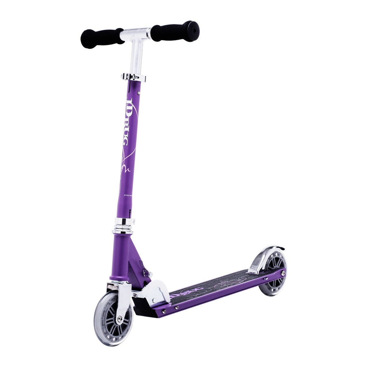 JD Bug Classic Street 120 Folding Scooter  Matt Purple