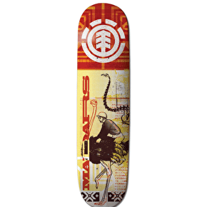 Element Overprint Skateboard Deck - Madars 8.25
