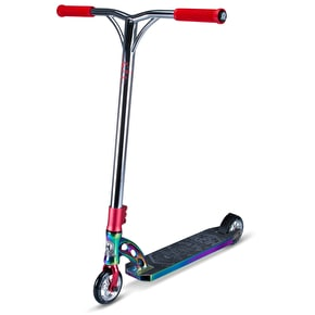 MGP VX7 Team LE Complete Scooter - Neochrome/Red