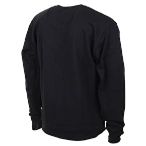 Chocolate Chunk Embroidered Crewneck - Black