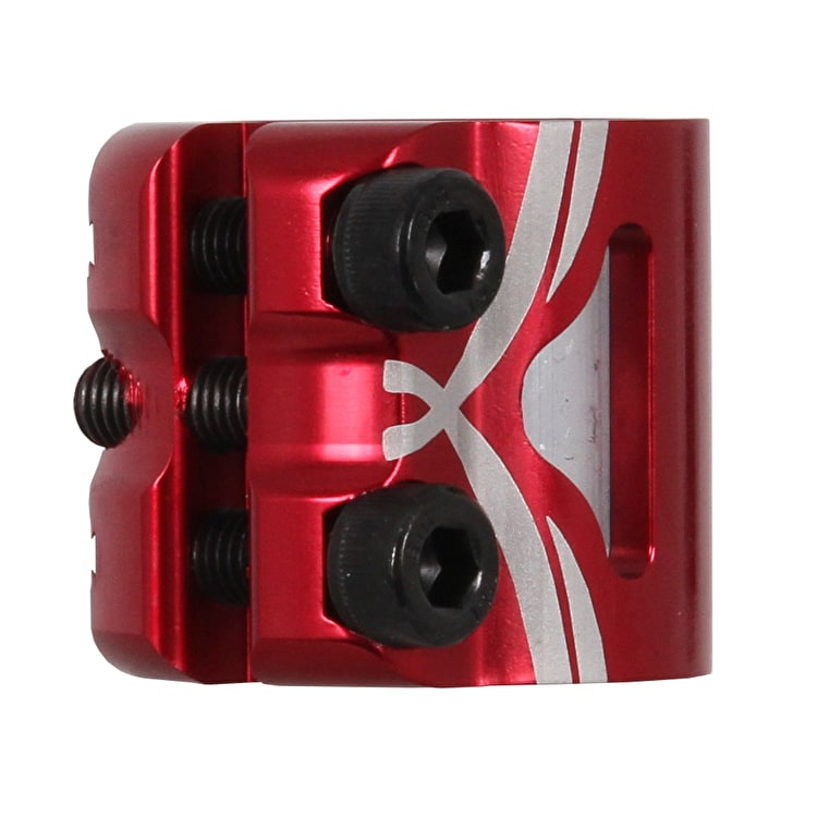 Logic HIC Double Clamp - Red