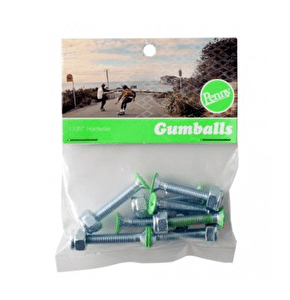 Penny 1 1/8'' Truck Bolts - Green
