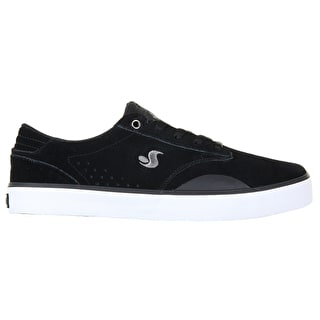 DVS Daewan 14 Skate Shoes - Black/White/Black