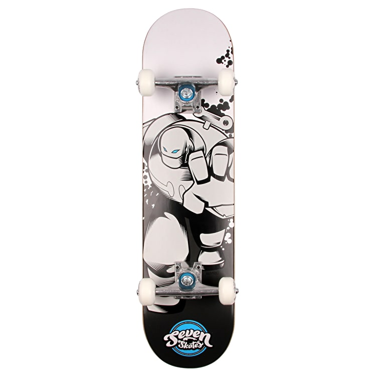 Seven Wind Up Robot V2 Mini Complete Skateboard - 7.25""