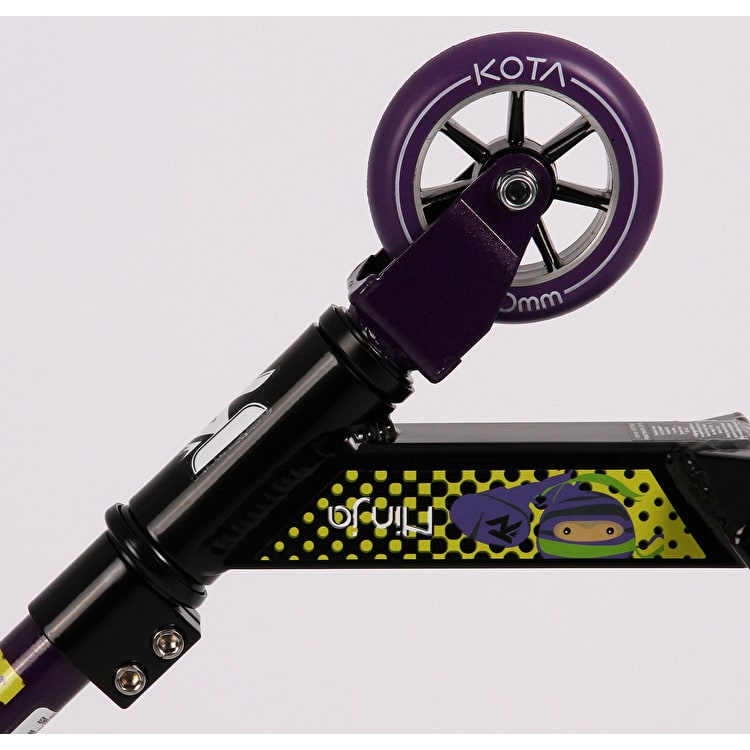 Kota Ninja Complete Scooter - Black/Purple