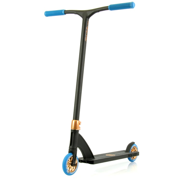 Ride 858 High Roller Complete Scooter - Bronze/Blue