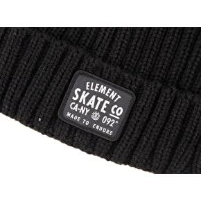 Element Counter Beanie - Flint Black