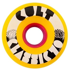 Cult Classic II 70mm 80a Longboard Wheels - Yellow