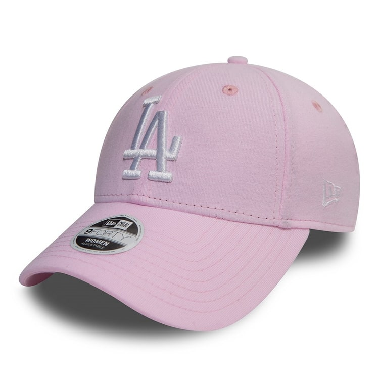 New Era LA Dodgers Jersey 9FORTY Cap – Pink/Optic White