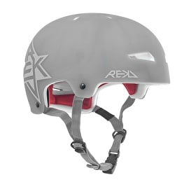 REKD Elite Semi-Transparent Helmet - Grey