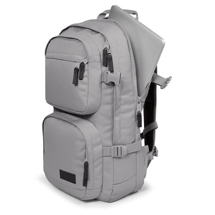 Eastpak Hutson Backpack - Mono Silver