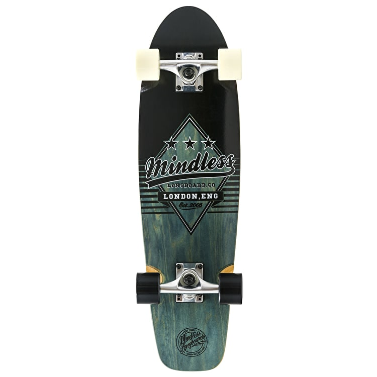 Mindless Daily Grande II Complete Cruiser - Black/White