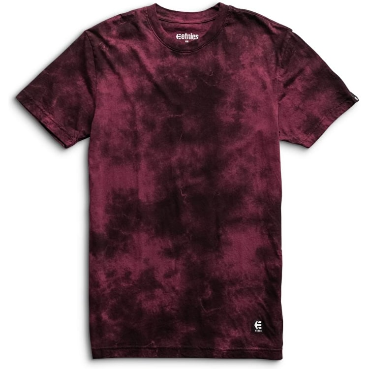 Etnies Obstruct Screen T-Shirt - Burgundy