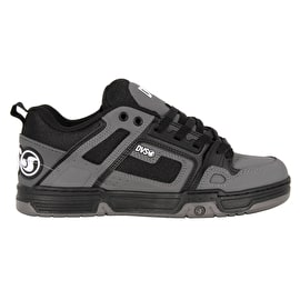 DVS Comanche Skate Shoes - Black/Charcoal Nubuck