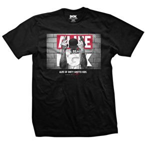 DGK x Alife T-Shirt - Stick Up Black