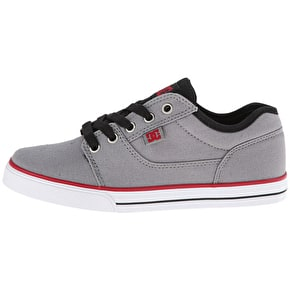 DC Tonik SE Shoes - Grey/Red