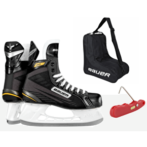 Bauer Supreme 140 Ice Skates Bundle