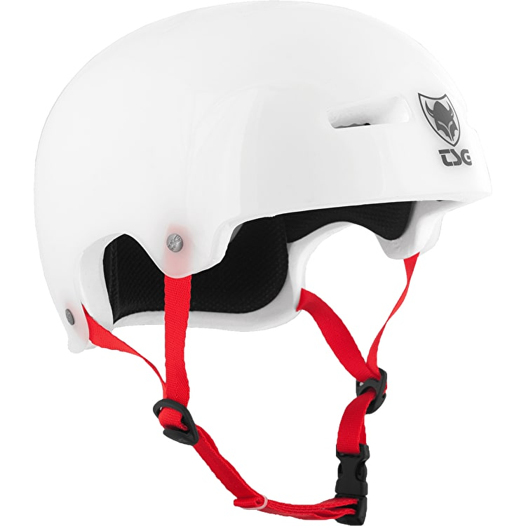 TSG Evolution Helmet - Clear White