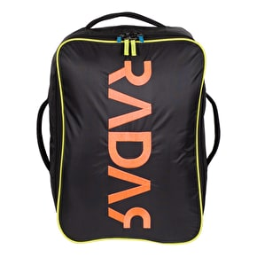 Radar Wheels Travel Skate Backpack - Black