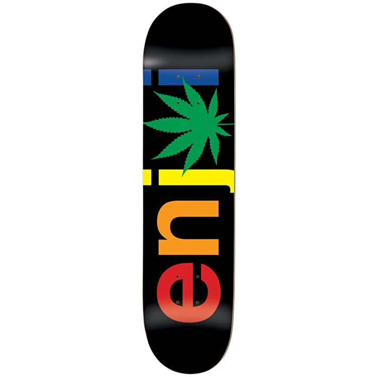 Enjoi Chronic Logo R7 Skateboard Deck - 8.125""