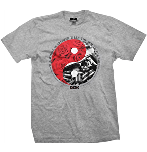 DGK Yin and Yang T-Shirt - Athletic Heather