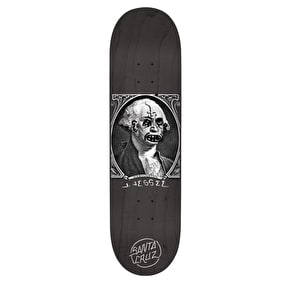 Santa Cruz Jessee Boner Dollar Skateboard Deck - Black/White 8.5