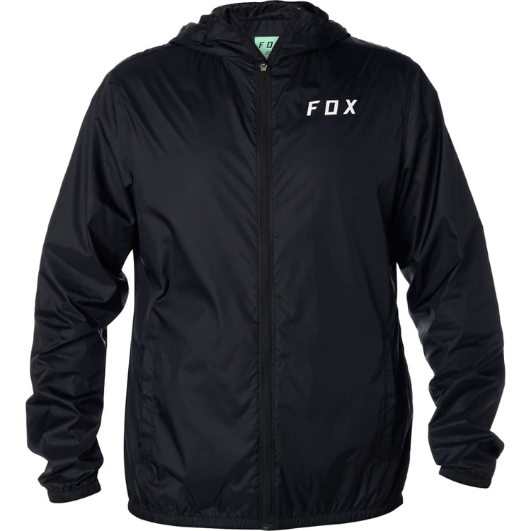 Fox Attacker Windbreaker Jacket - Black