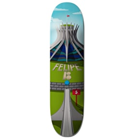 Plan B Skateboard Deck - Hole In One Cathedral Felipe 8