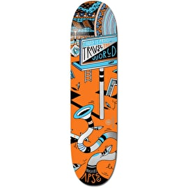 Element Elna Positive Billboards World Skateboard Deck - Apse 8.25