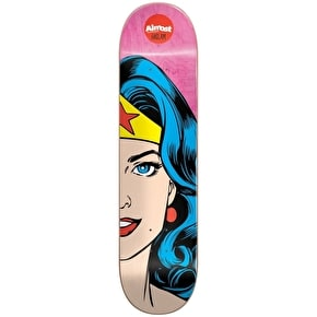 Almost Skateboard Deck - Wonder Woman Split Face R7 Haslam 8.375