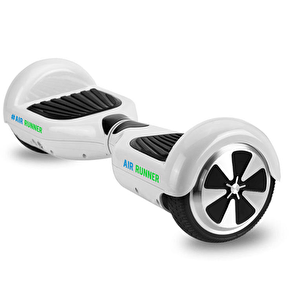 Air Runner Self Balancing Skateboard/Scooter - White