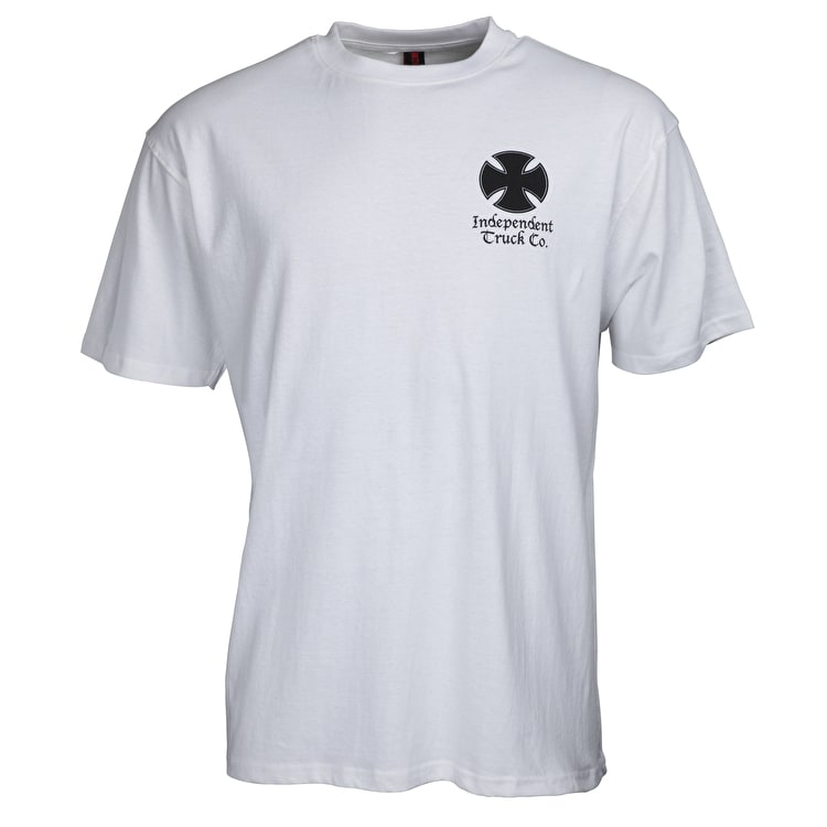 Independent Time Is Short T-Shirt - White